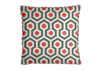 Premier Prints Magna Timberwolf Red Pillow