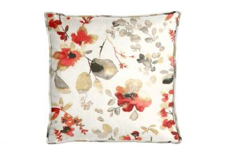 Highland Taylor Watercolor Poppy Pillow
