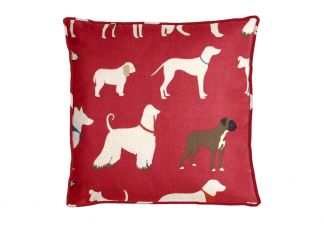 Highland Taylor Wagalot Red Pillow