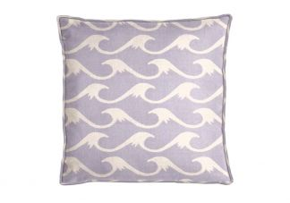 Al Fresco Cresting Sea Lavender Pillow