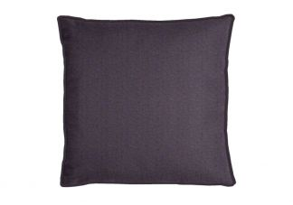 Highland Taylor Silk Dupioni Dark Violet Pillow