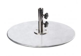 70 lb. galvanized steel umbrella base plate