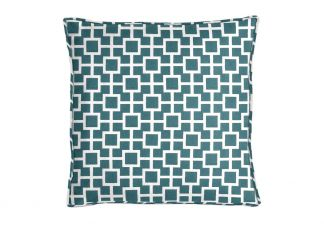 Robert Allen Latticescape Lagoon Pillow