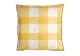 Robert Allen Checkered Out Sunray Pillow