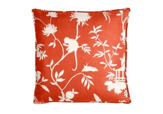 Highland Taylor Teahouse Orange Pillow