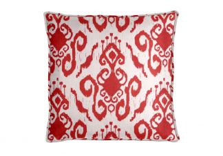 PARA Tempotest Club Ikat Red Pillow