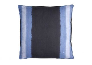 Robert Allen Ombre Panel Indigo Pillow