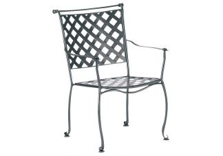Maddox Stackable Dining Arm Chair