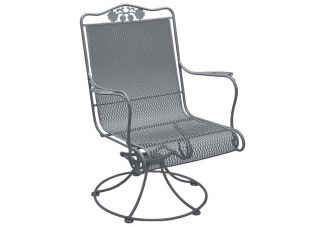 Briarwood High Back Swivel Rocker