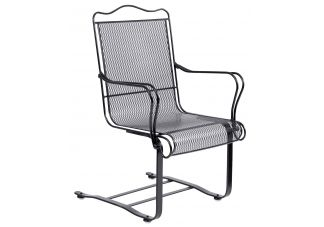 Tucson High Back Spring Dining Arm Chair