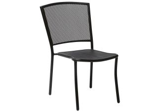 Iron Cafe Series Albion Stackable Side Chair