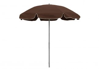 7.5 ft. Sunbrella True Brown Patio Umbrella