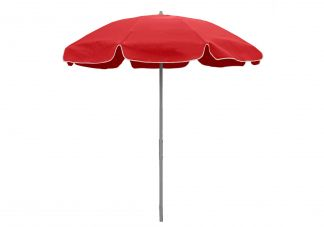 7.5 ft. Sunbrella Jockey Red Patio Umbrella