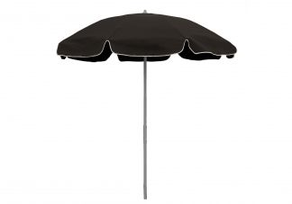 7.5 ft. Sunbrella Black Patio Umbrella