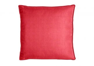 Al Fresco Cabana Twill Berry Pillow