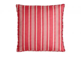 Al Fresco Tesoro Stripe Berry Pillow
