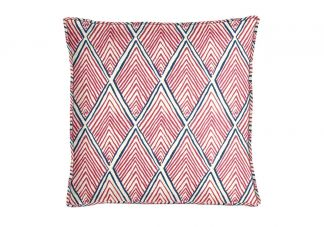 Robert Allen Rhombi Forms Fuchsia Pillow