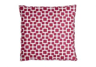 Robert Allen Latticescape Hibiscus Pillow