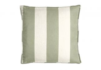 Al Fresco Cabana Stripe Dill Pillow