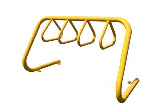 Triangular Loop 5 Bike Parking Rack