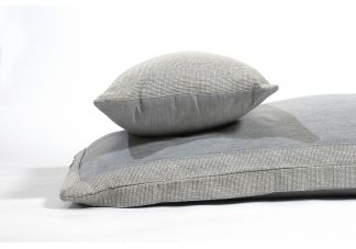 Amalfi Throw Bed - Sunbrella Granite and Sunbrella Hybrid Smoke