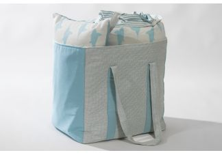 Outdura Canvas Aquatic and Sunbrella Hybrid Sky Bag