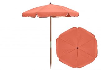 Coral Beach Umbrella