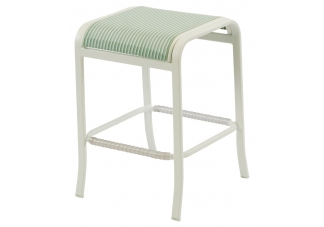 Ocean Breeze Sling Backless Bar Chair