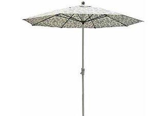 9 Aluminum Crank Market Umbrella With Fiberglass Ribs
