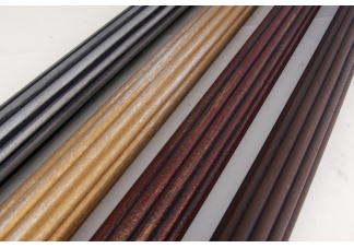 "Fluted Wood Poles, 2"" Diameter"