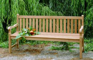 outdoor grade a teak bench made from durable high quality teak. Many sizes of teak benches to fit yo