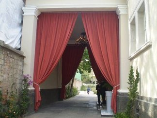 outdoor drapes, curtains,sunbrella