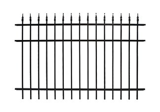 6ft x 8ft Classic Steel Fence Panel
