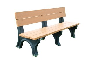 Traditional 6 Backed Bench