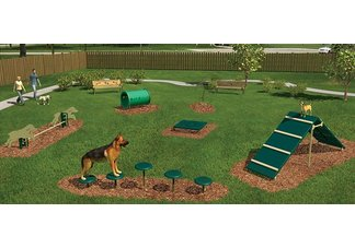 Intermediate Barkpark Kit, 6 Pieces