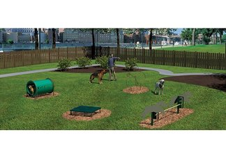 Novice Barkpark Kit, 4 Pieces