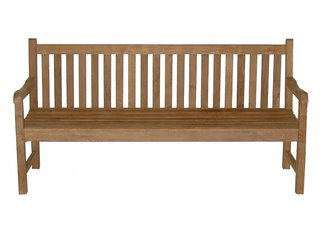 Teak Block Island Bench, 6ft.