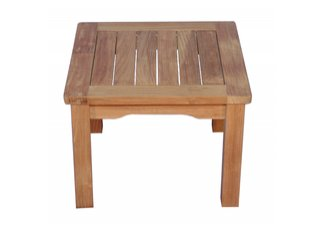 Teak Mission Side Table