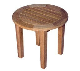 Round side table fixed leg