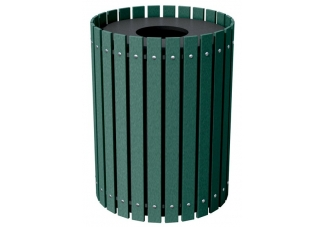 Round Recycled Waste Enclosure