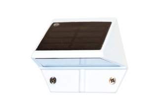 SOLAR DECK & WALL LIGHT - WHITE