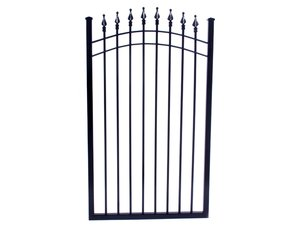 fence, gate, commercial, arched gate, commercial steel gate, steel, steel, fence, steel, arched gate