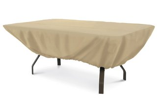 rectangular patio table cover, outdoor table cover, patio furniture cover, outdoor rectangular table