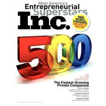 Inc. Magazine's 500/5000 Fastest Growing Private Companies