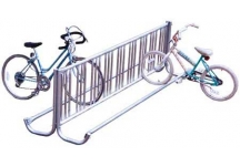 bike racks, galvanized, j bike racks