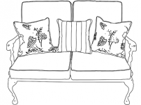 Custom Outdoor Throw Pillows