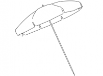 Custom Beach Umbrellas
