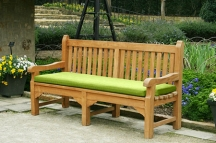 Green Bench Cushion
