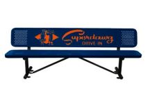 custom bench, park benches
