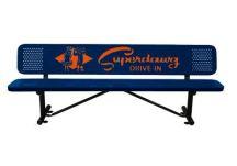 custom bench, park benches